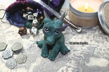 Irving the Dragon by FatDragonArtworks
