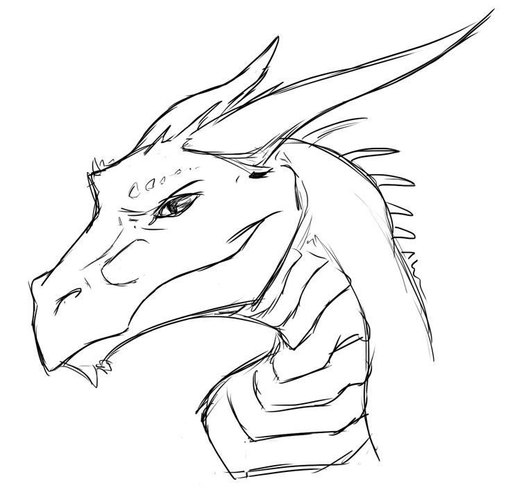 sckhar leviathan dragon face by romystic on deviantart. Black Bedroom Furniture Sets. Home Design Ideas