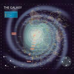 Star Wars -- Galaxy Map with BG