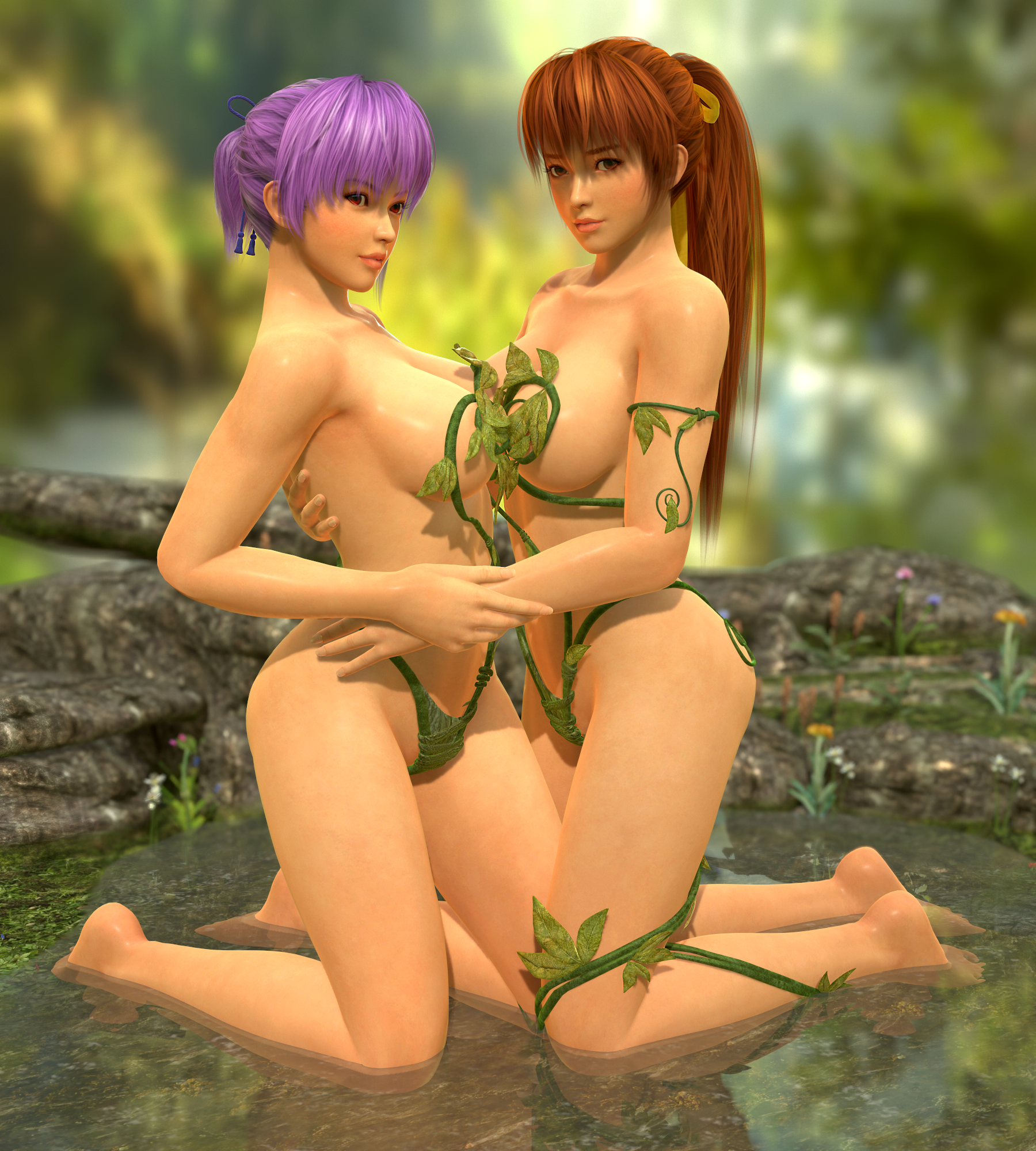 Dead or alive kasumi and ayane