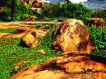 Kovalam Rocks by haze007