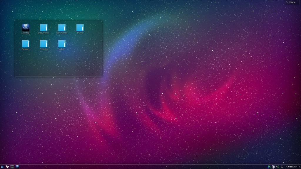 Origami Os Desktop By Haze007 On Deviantart