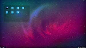 Origami OS Desktop by haze007
