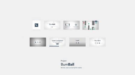 Bumball Preview: A minimal ball survival game by haze007