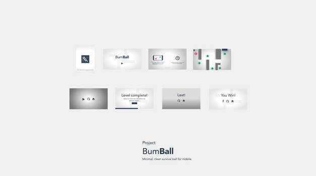 Bumball Preview: A minimal ball survival game