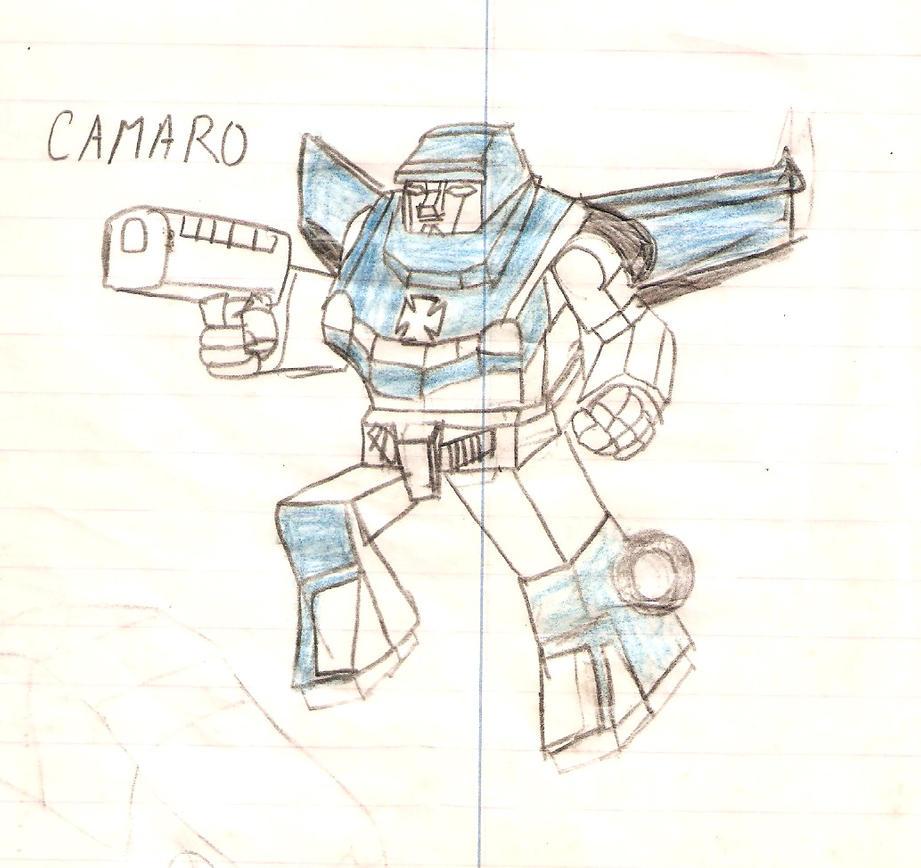 camaro by metalformer