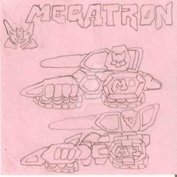 Megatron Destruction Emperor sketch