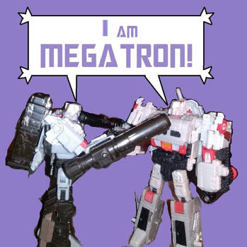 Clash Of The Tyrants: Siege Megatron vs Titans Meg by metalformer