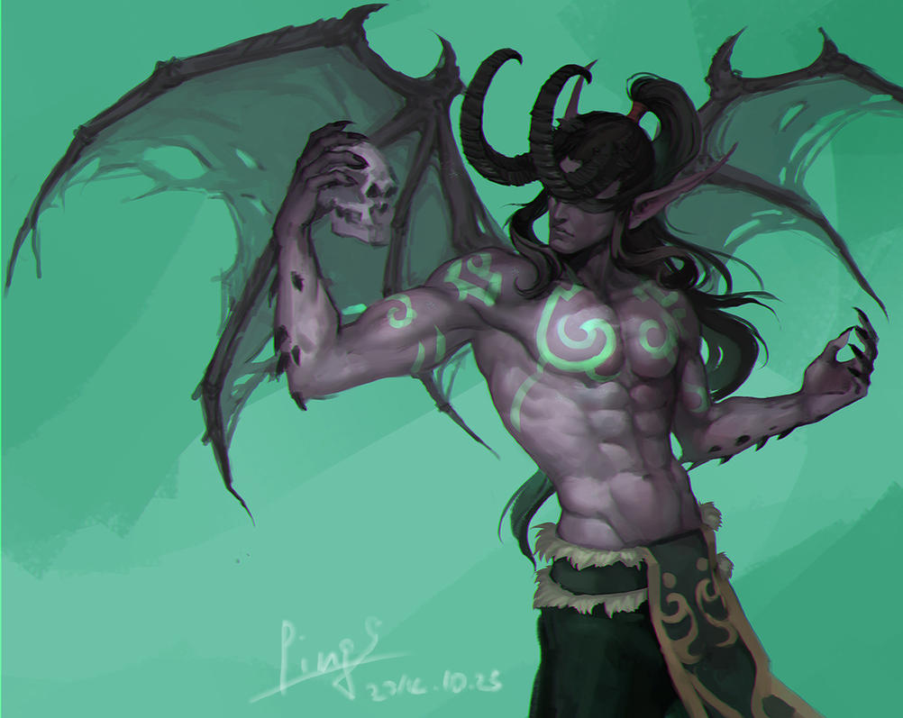 Illidan by pingping93 on DeviantArt