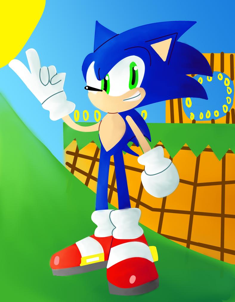 Modern Sonic by Darkspike75