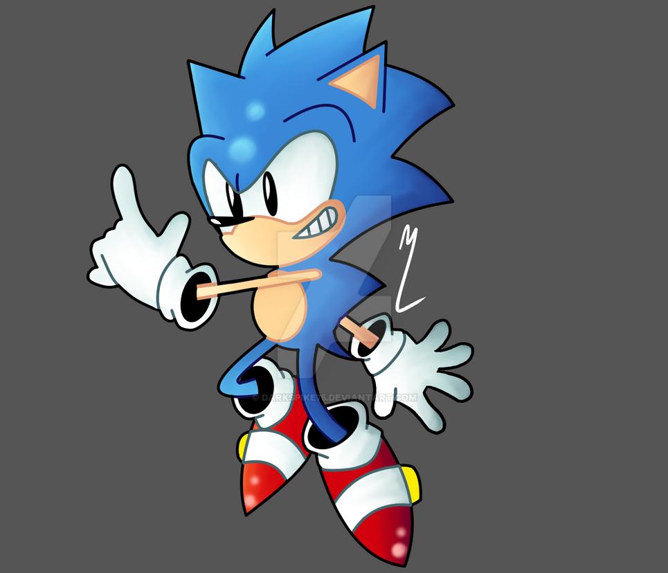 Sonic The Hegdehog by Darkspike75