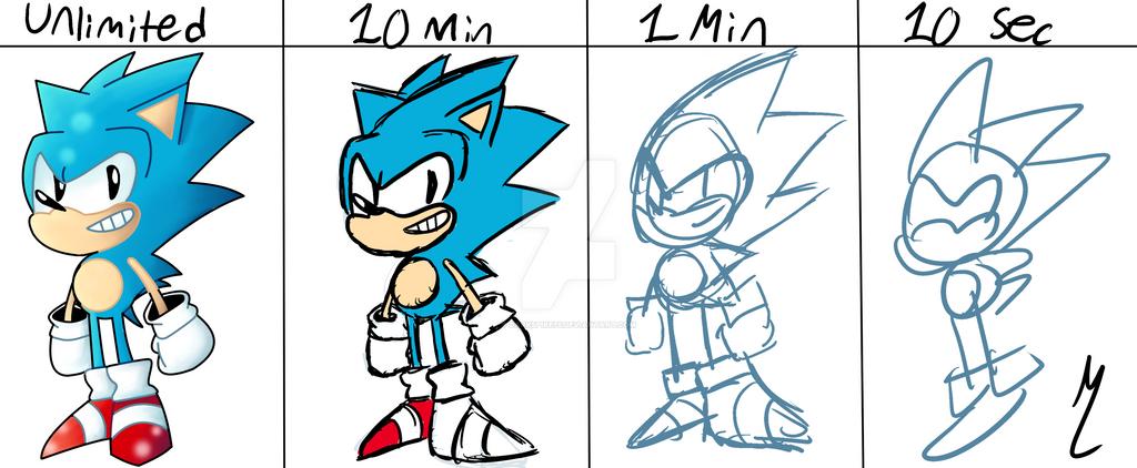 Sonic Time Challenge by Darkspike75