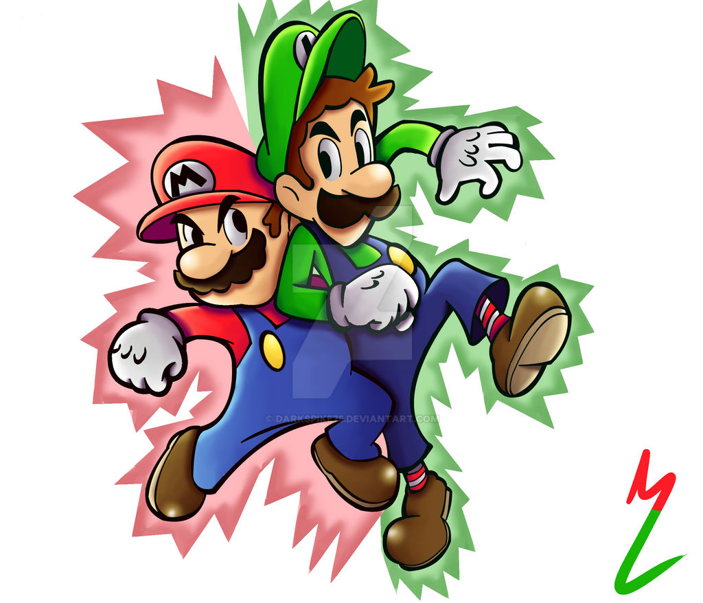 Mario Luigi Superstar Saga By Darkspike75 On Deviantart