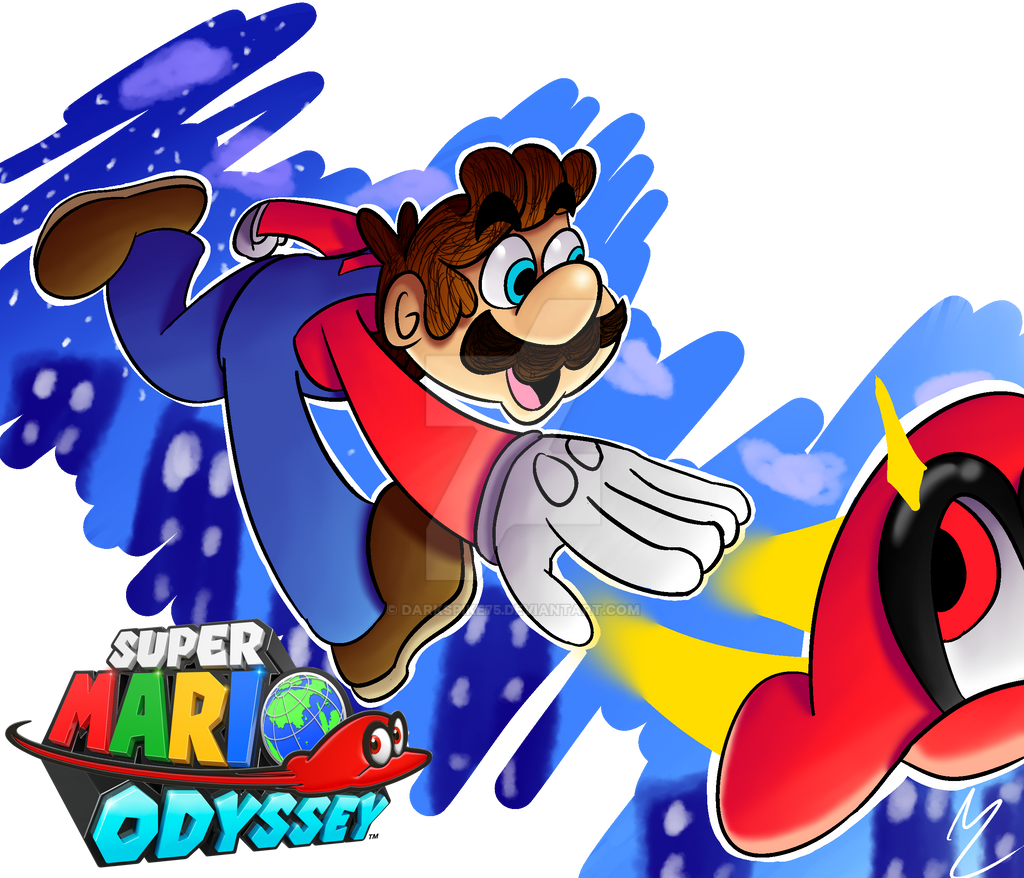Super Mario Odyssey Hype by Darkspike75