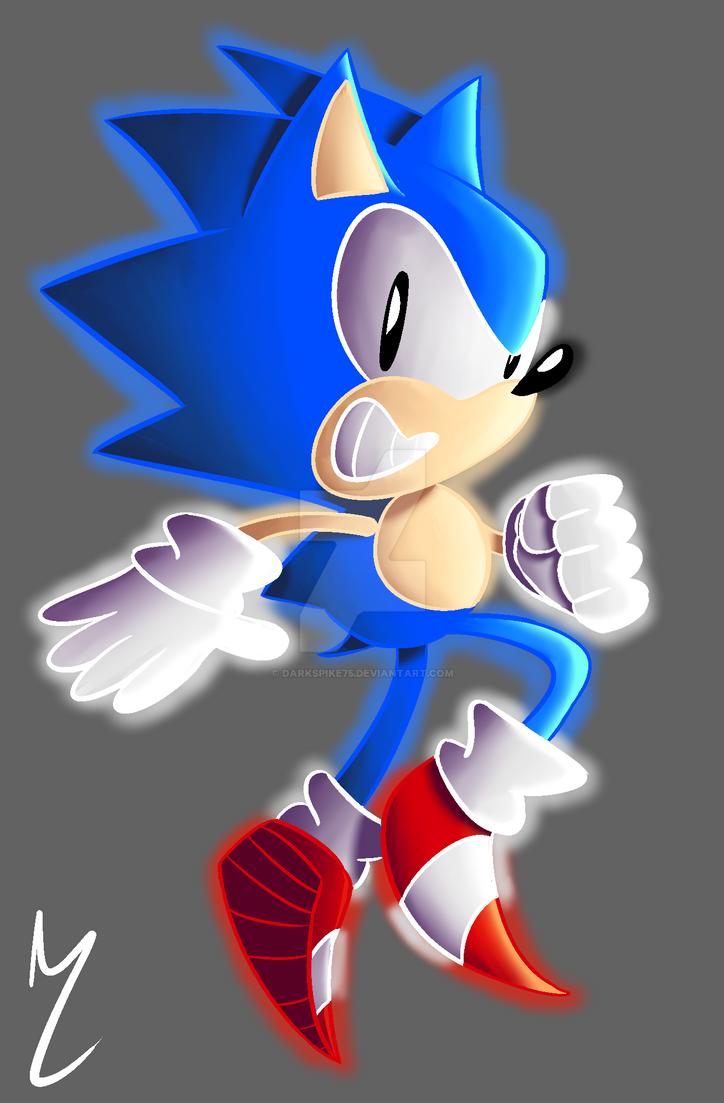 A Hedgehog With Style by Darkspike75