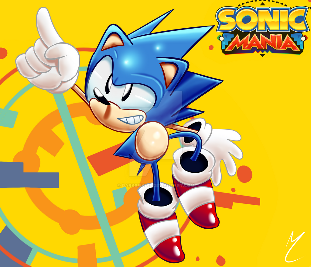 (late) Sonic Mania FanArt by Darkspike75