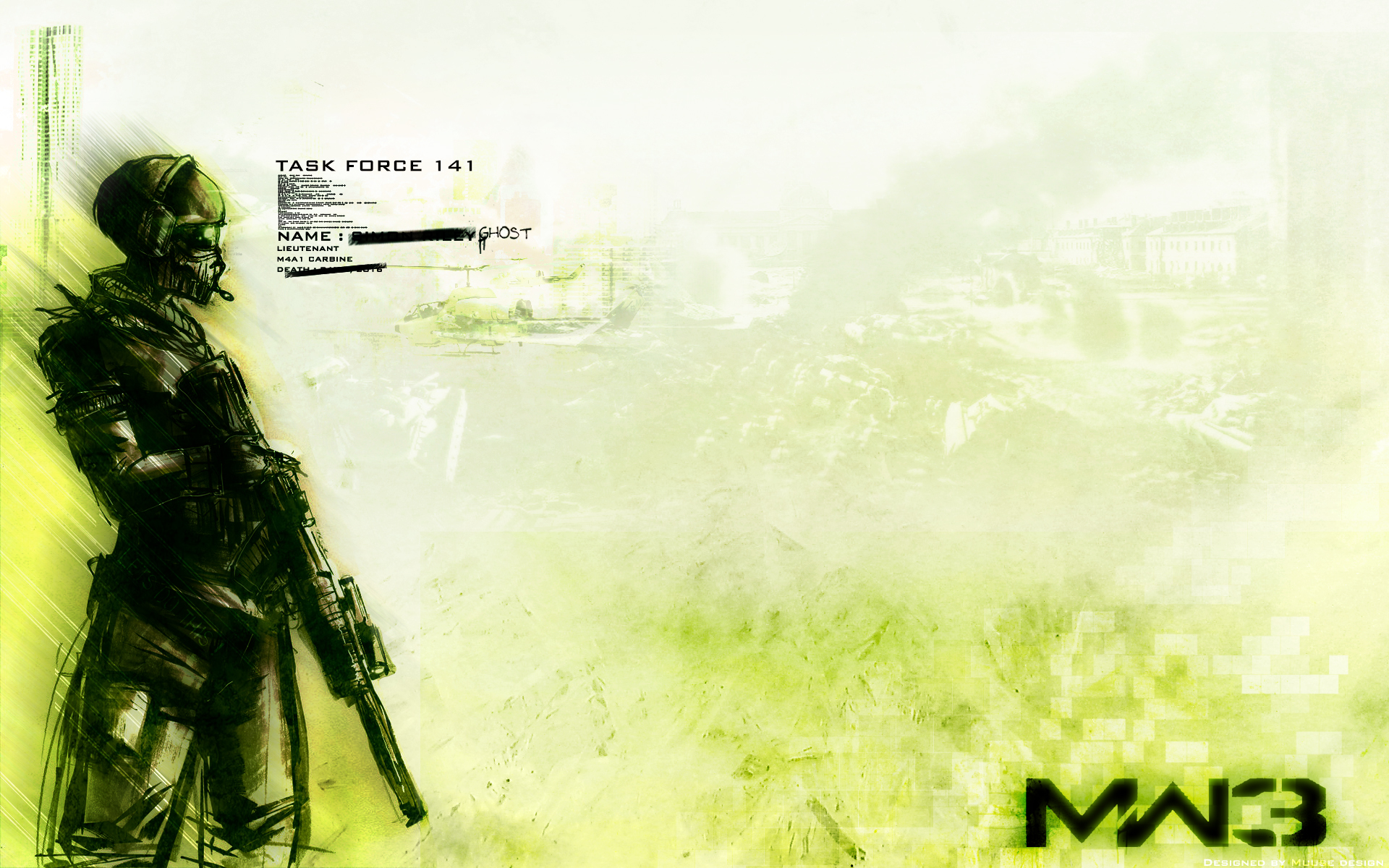Ghost Return - Mw3 Wal...