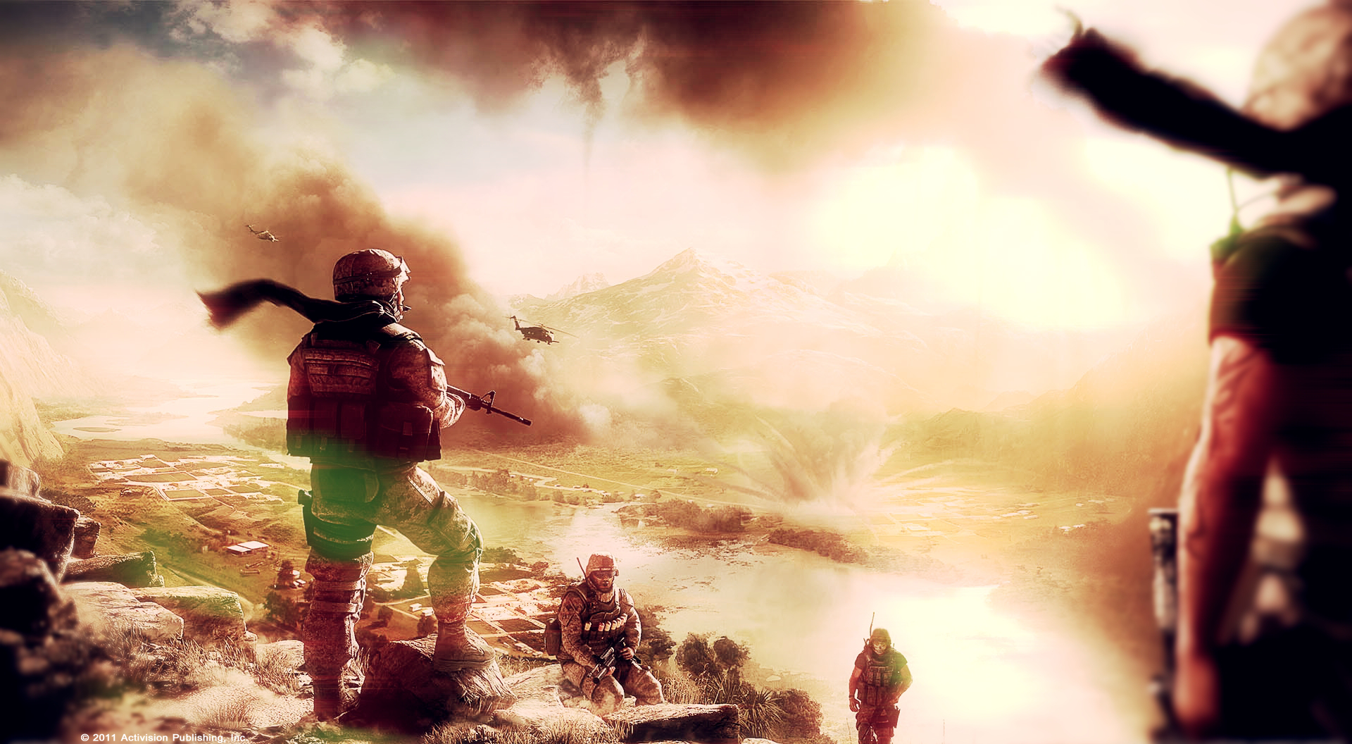 Modern Warfare 3 - Wallpaper 2 by MuuseDesign
