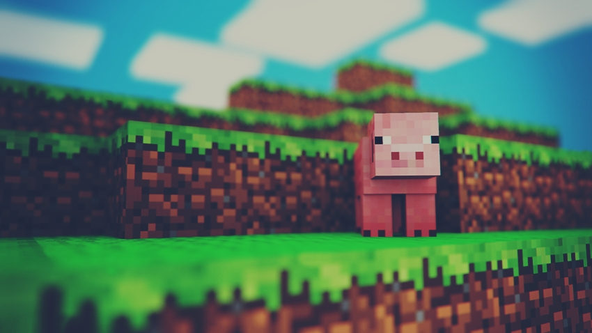 minecraft pig wallpapers download - photo #21