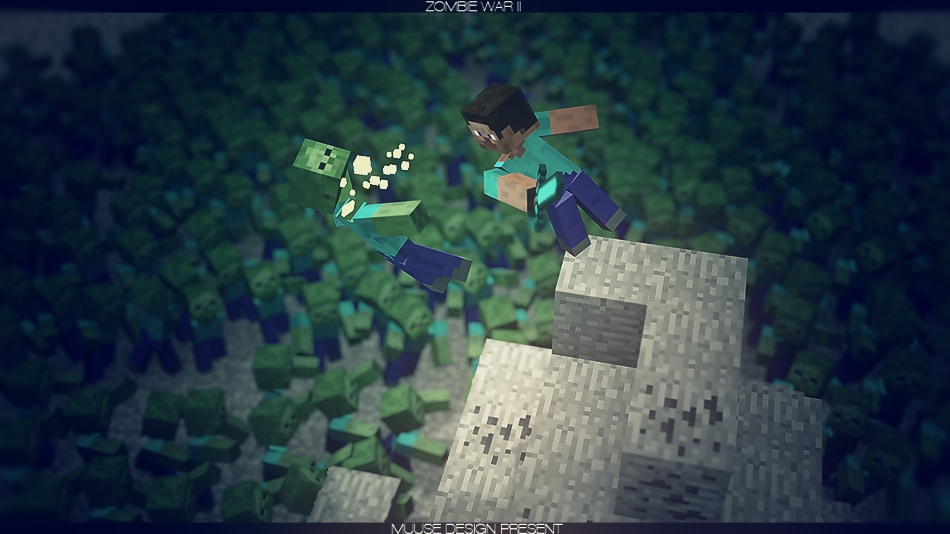 cool wallpapers of minecraft zombies - photo #35