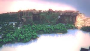 Minecraft Landscape - I by MuuseDesign
