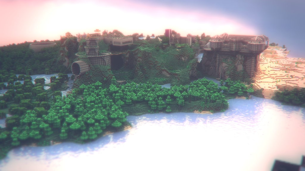 Minecraft Landscape - I by MuuseDesign