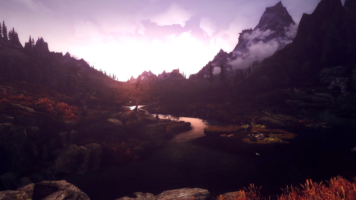Beauty of Skyrim - IX by MuuseDesign