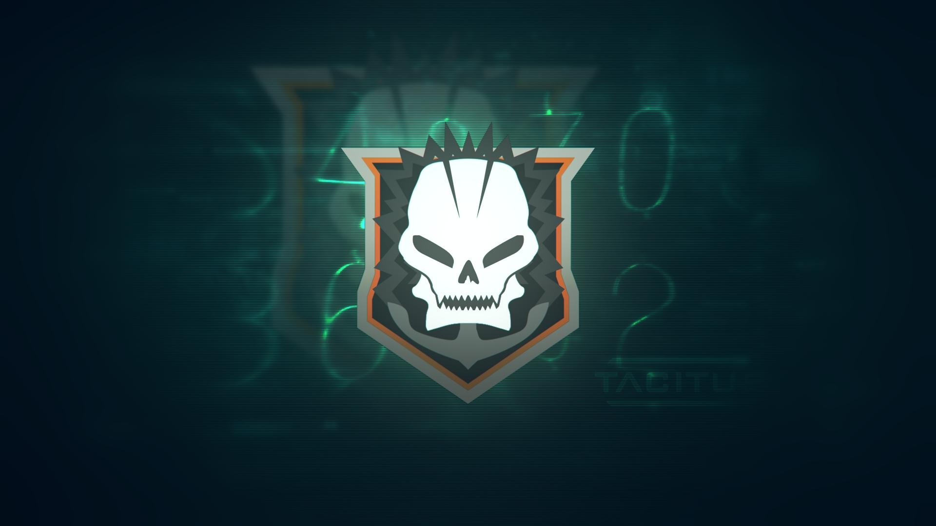 Black Ops 2  - Skull Wallpaper HD by MuuseDesign