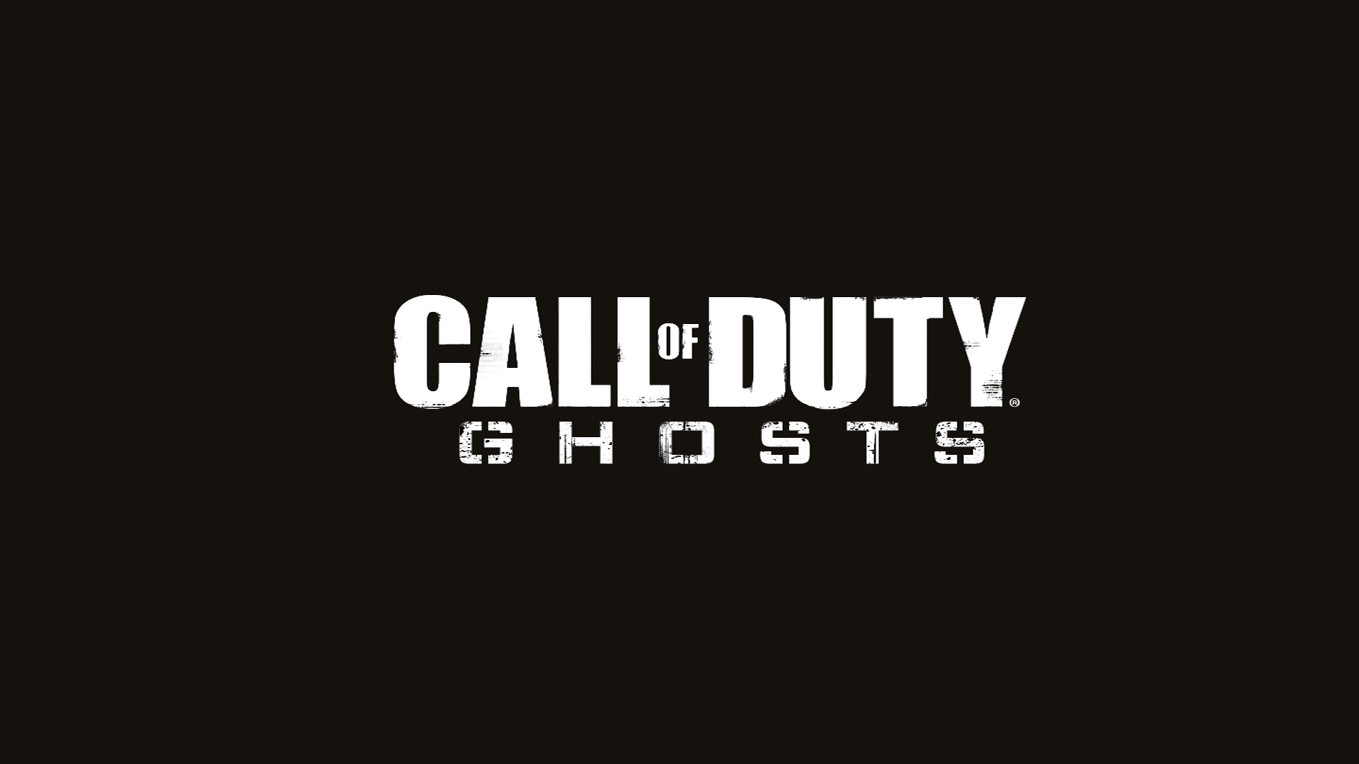 Call of Duty : Ghosts - Official HD Wallpaper Logo
