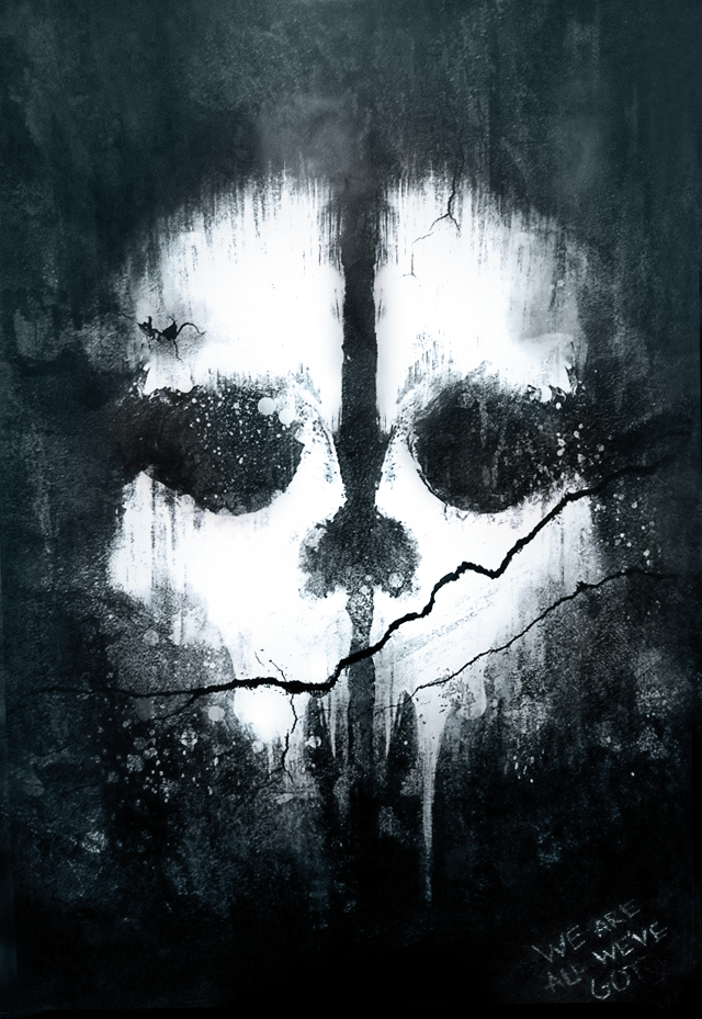 Call Of Duty Ghosts Cleaned Poster Hd By Muusedesign On Deviantart