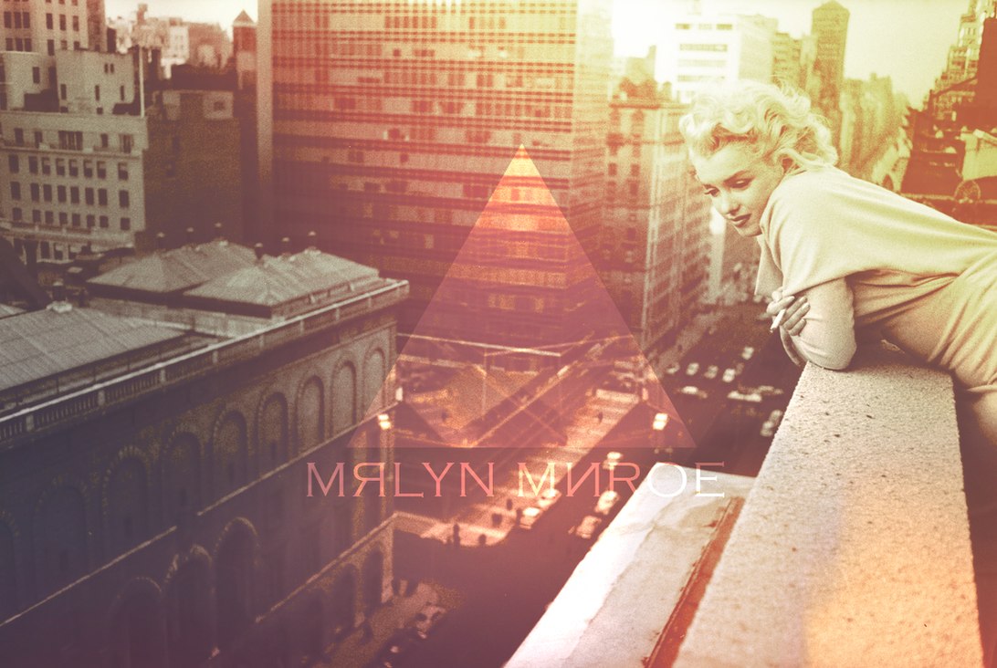 Marylin Monroe - Wallpaper by MuuseDesign
