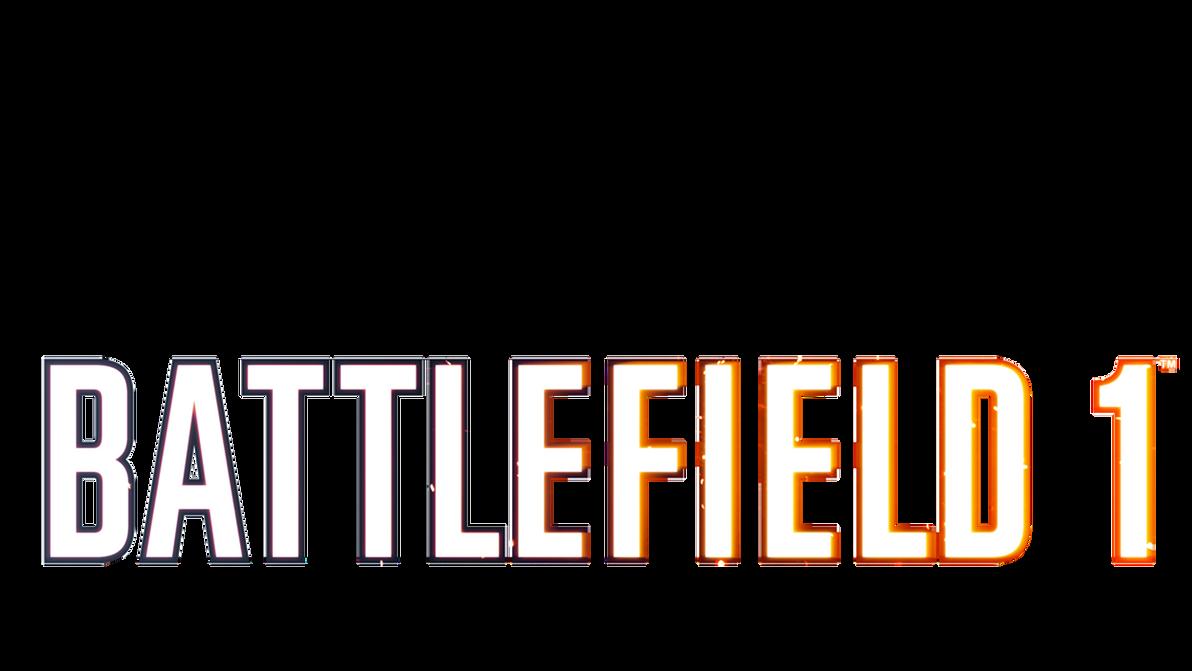 Battlefield 1 Clean logo Transparent by MuuseDesign