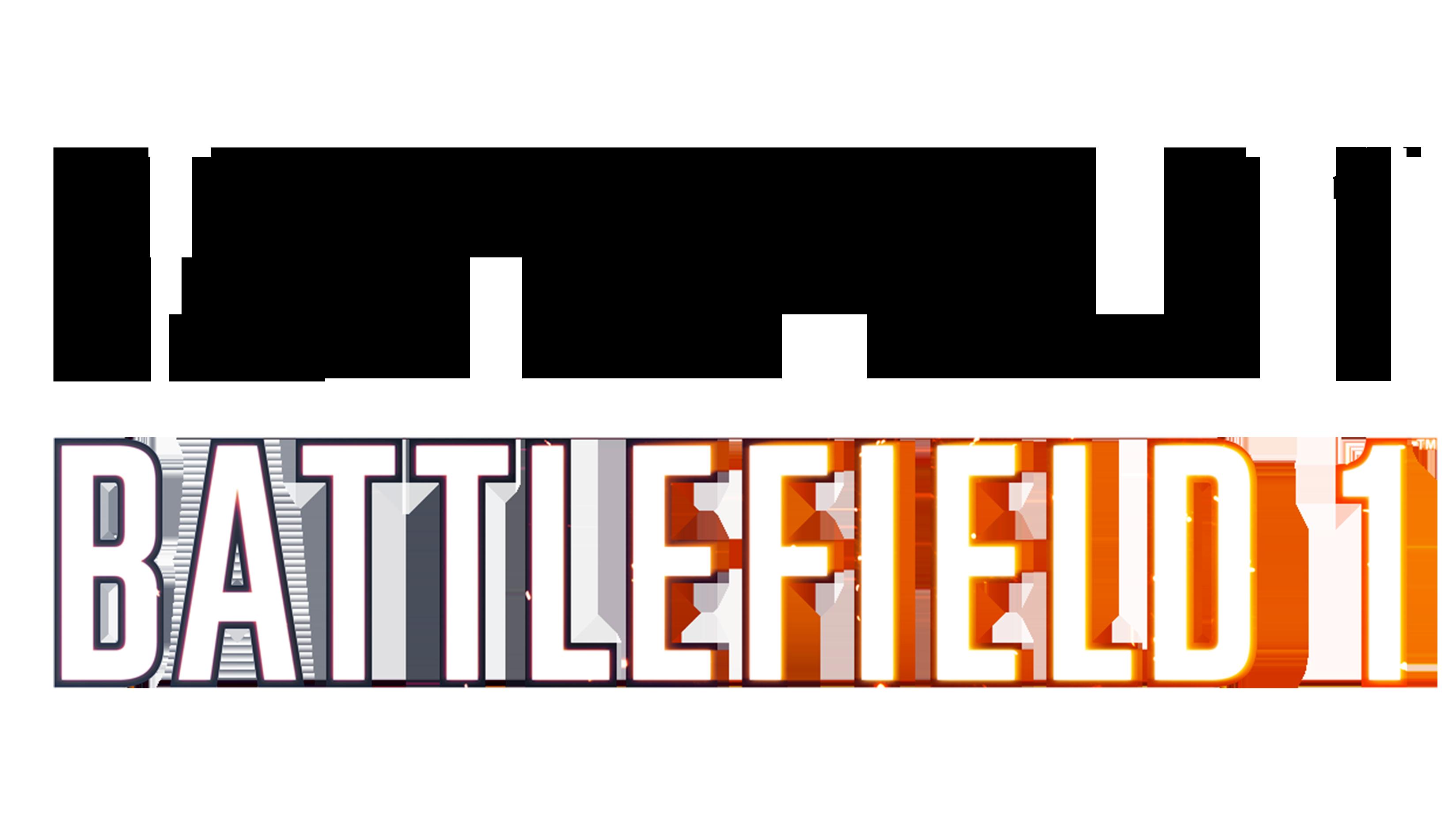 Battlefield 1 Clean logo Transparent