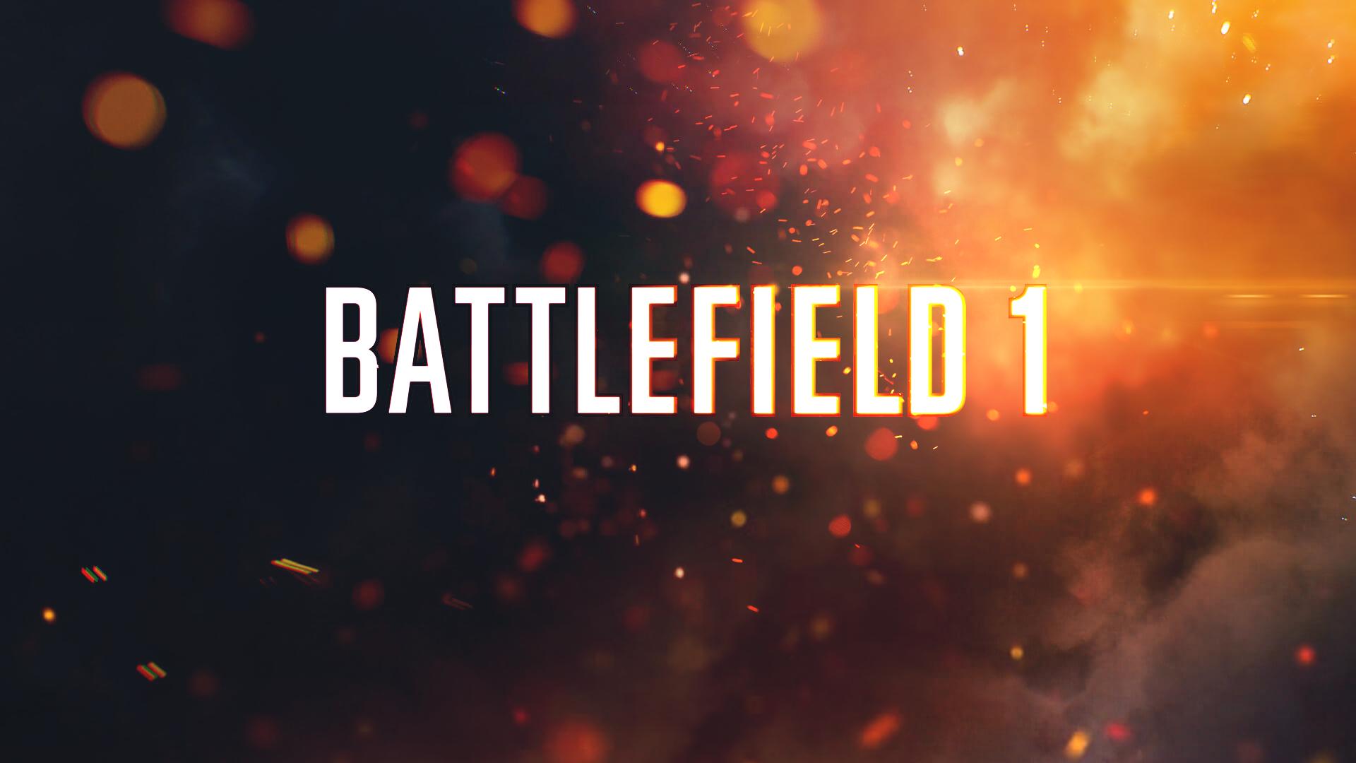 Battlefield 1 HD Wallpaper