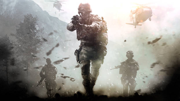 COD4 Rework Wallpaper - Call of Duty 4 Remastered