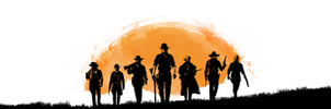 Red Dead Redemption 2 - Cleaned Transparent Gang