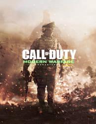 COD Modern Warfare 2 Remastered -  Cover Art