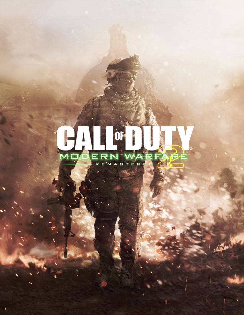 COD Modern Warfare 2 Remastered -  Cover Art by MuuseDesign