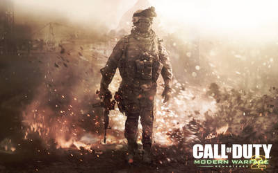 COD Modern Warfare 2 Remastered - HD Wallpaper