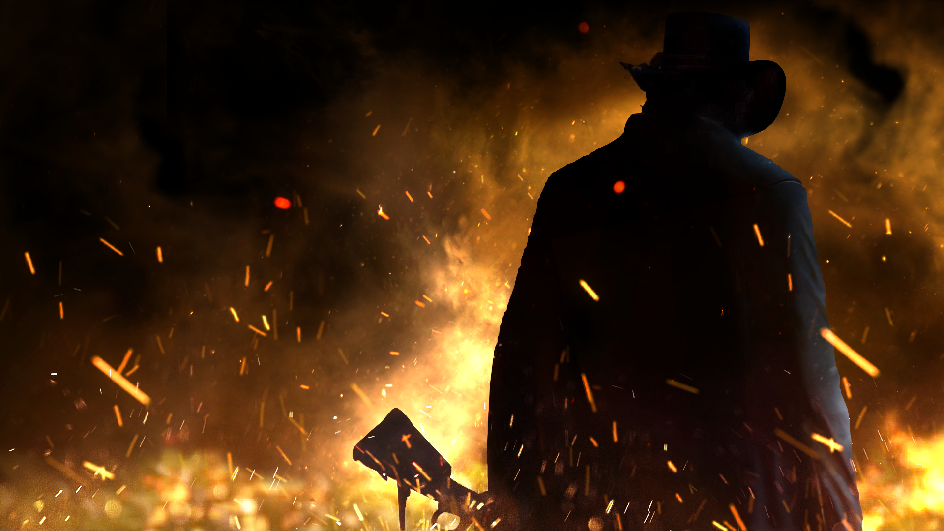 Red Dead Redemption 2 Cleaned Trailer Wallpaper By Muusedesign