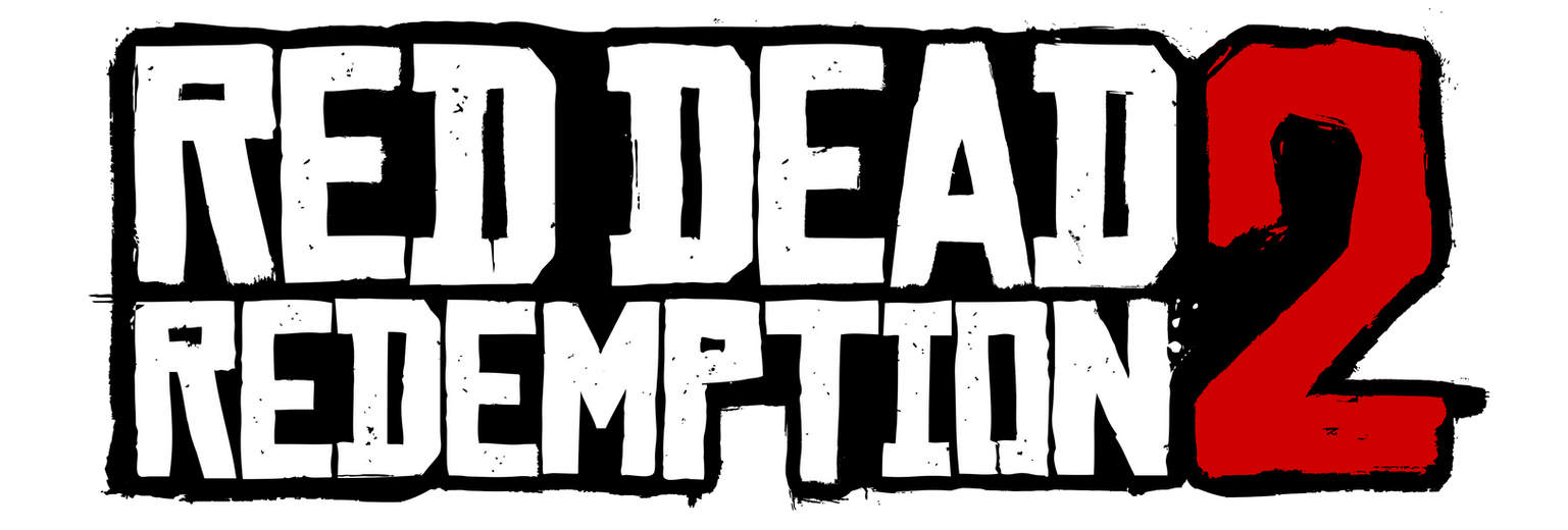 Red Dead Redemption 2 - Cleaned Transparent Logo 3 by MuuseDesign