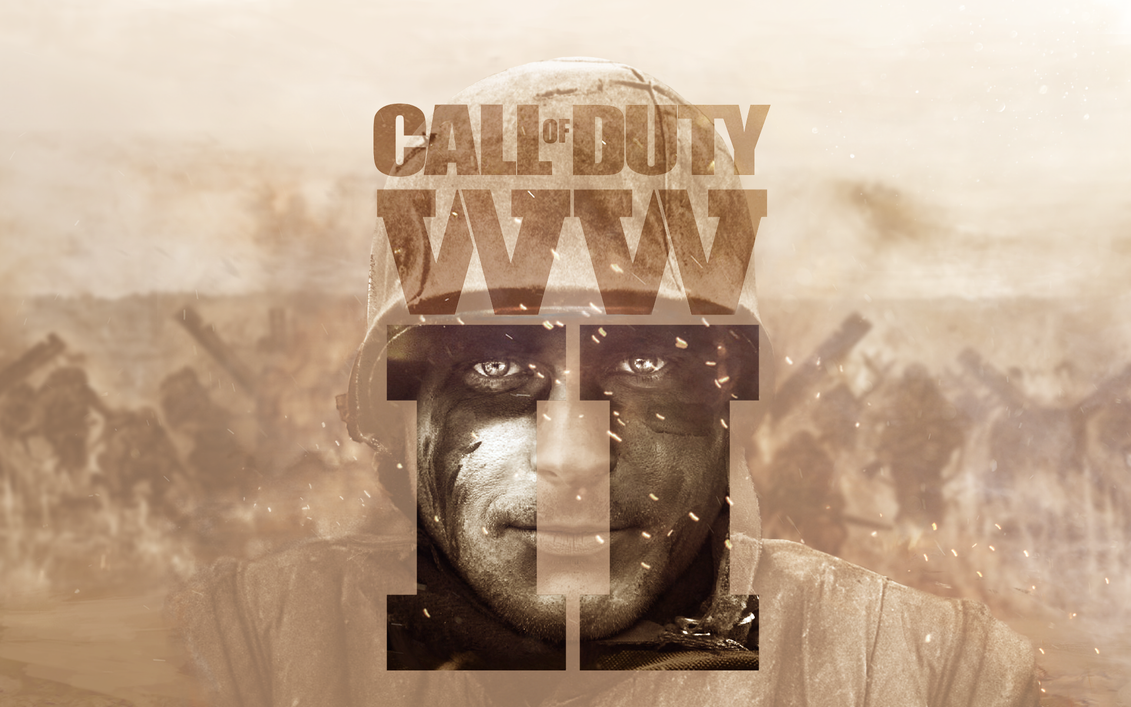 COD : WWII - Leaked Wallpaper HD by MuuseDesign