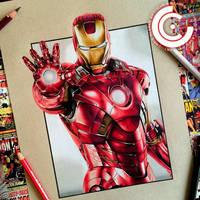 Iron man by clarke-art