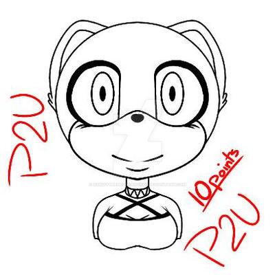 .:P2U/A2U Female Sonic base:. by xXxIvyTheHedgehogxXx