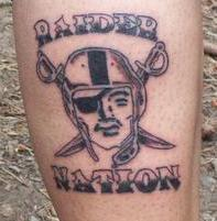 Raider nation next pictures to pin on pinterest tattooskid for Raider nation tattoos