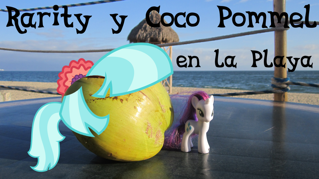 Rarity Y Coco Pommel En La Playa by IzzyIzumi