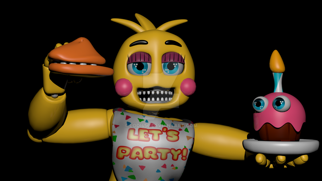 Five night at freddy s 2 toy chica by lodi456 on deviantart