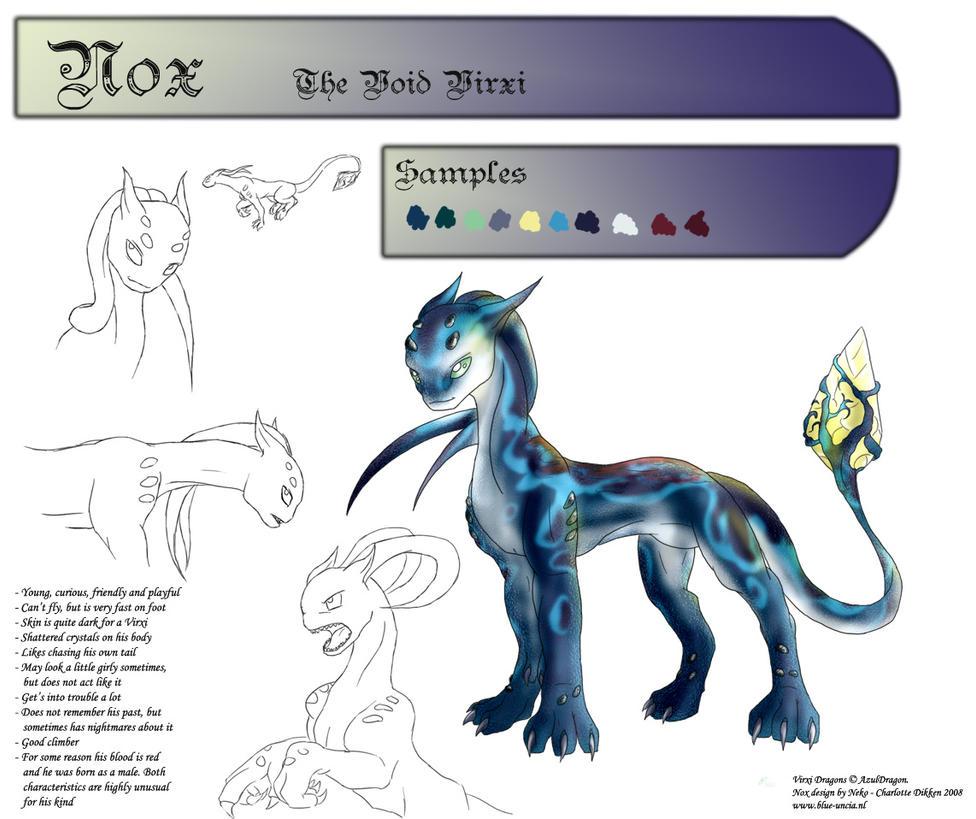 Virxi Dragon contest entry by Blue-Uncia
