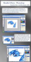 Metallic effects tutorial