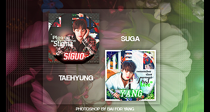 BTS Icon for Yang by Siguo